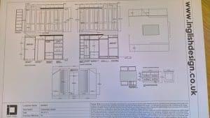 Bedroom design Harrogate