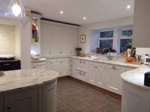 Bespoke painted kitchen Harrogate