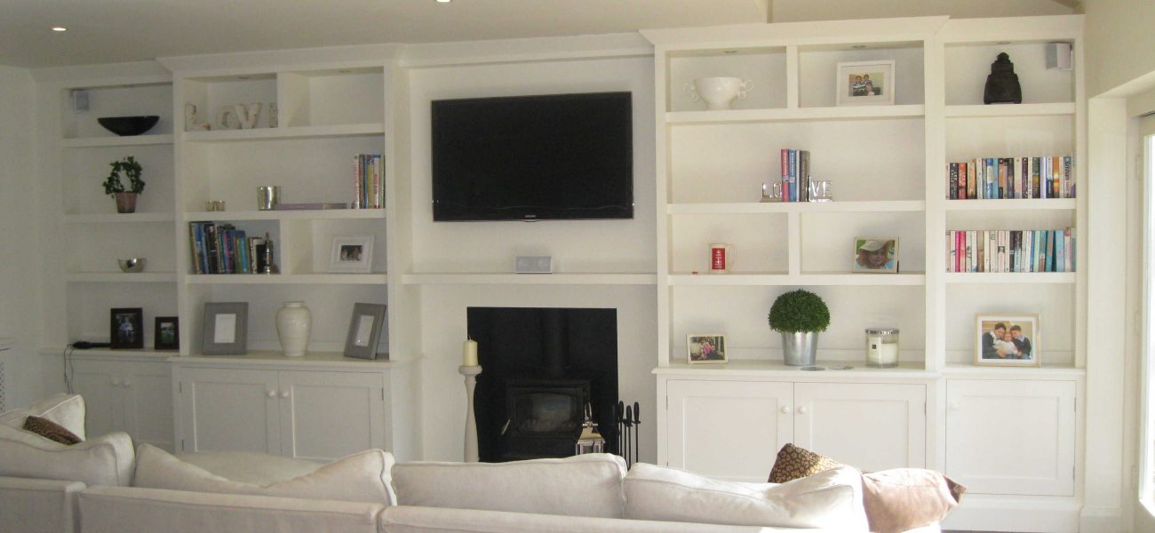 Harrogate bookcase design