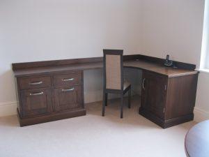 Walnut Desk and study furniture Harrogate