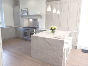 Hand Painted kitchen in Harrogate