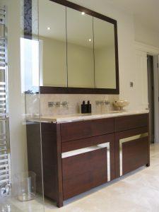 Luxury bathroom cabinet Harrogate