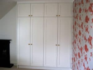 Hand painted wardrobes in Harrogate by Inglish Design