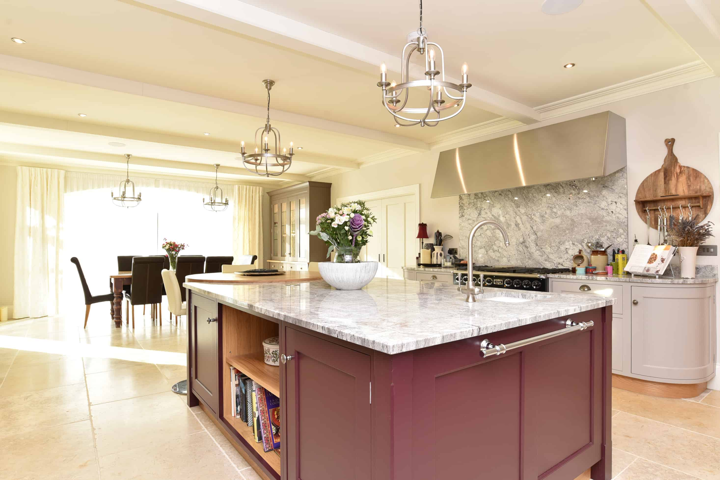 Hand painted kitchens Harrogate