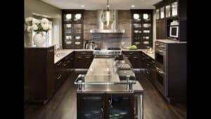 Dark painted kitchens Harrogate