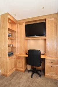 Fitted office study harrogate