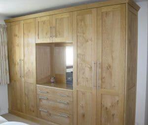 Harrogate oak bedroom furniture
