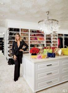 Kloe Kardashians Dressing Room