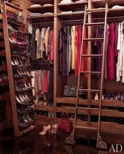 Brooke Shields Dressing Room