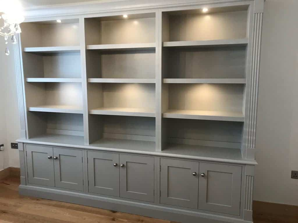Painted Bookcases in Harrogate
