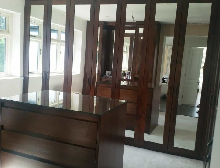 Bespoke Mirrored Wardrobes and Dressing Rooms